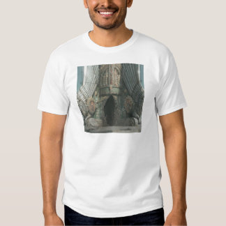 Abstract Fantasy Tower Of Two Tigers Tee Shirt