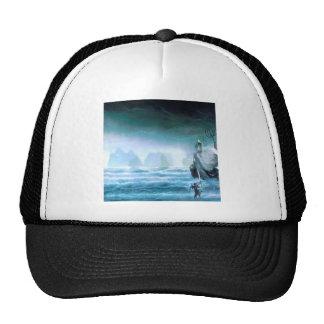 Abstract Fantasy Water God Atlantis Trucker Hat