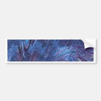 abstract fascination,blue bumper stickers