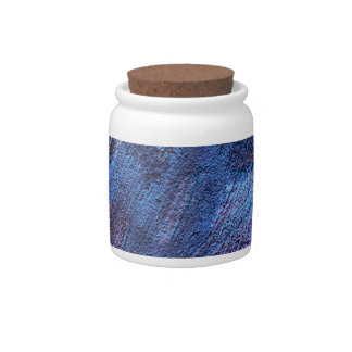 abstract fascination,blue candy jars