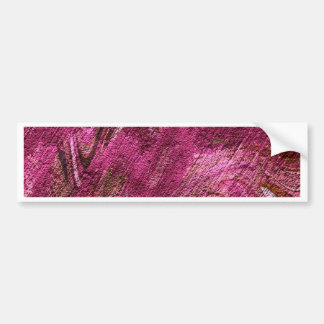 abstract fascination, fuchsia bumper sticker