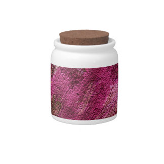abstract fascination, fuchsia candy dish