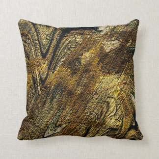 abstract fascination, olive throw pillows