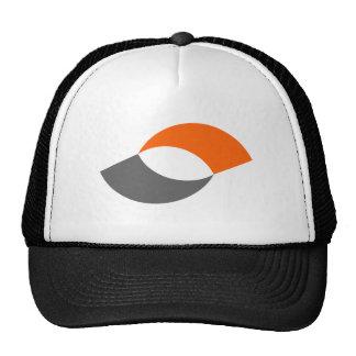 Abstract Fat Eye Baseball Cap Trucker Hat