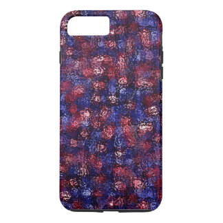 Abstract Faux Frosted Glass Design Phone Case