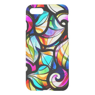 Abstract Faux Stained Glass Illusion iPhone 8/7 Case