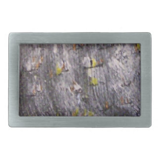 Abstract Feathers Rectangular Belt Buckle