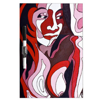 Abstract Female 2 Dry-Erase Board