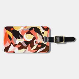 Abstract Female 4 Bag Tags