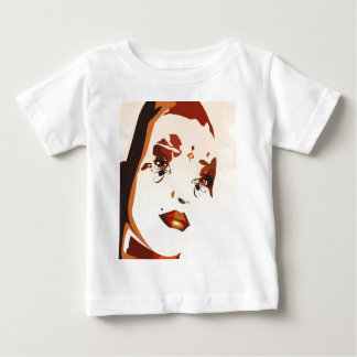 Abstract Female Lady Tee Shirt
