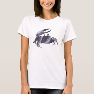 Abstract Fiddler Crab silhouette T-Shirt