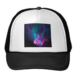 Abstract Fiery Descent Trucker Hat
