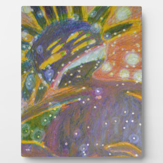Abstract Figure Of A Person Display Plaque