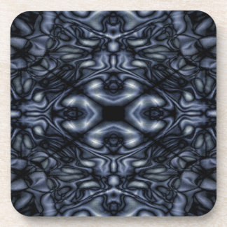 Abstract figures pattern beverage coaster