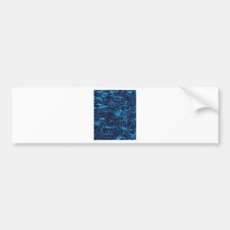 Abstract Filaments Bumper Sticker