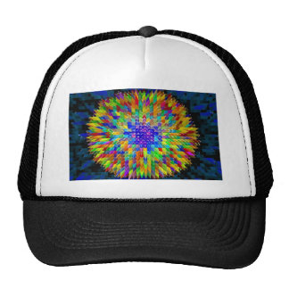 Abstract fine art painting poster t-shirt print trucker hat