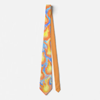 Abstract Fire Balls 2 Tie