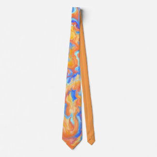 Abstract Fire Balls Neck Tie