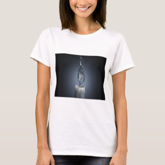 abstract fire candle water splash T-Shirt