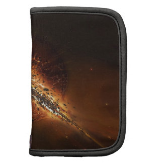 Abstract Fire Explosion Galactic Planner
