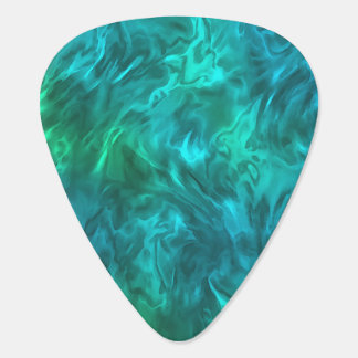 Abstract Fire Guitar Pick