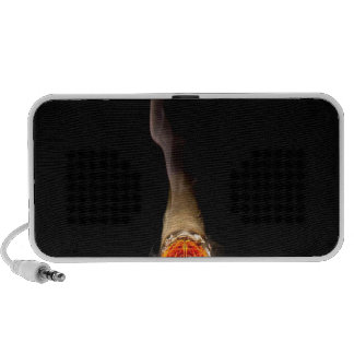 Abstract Fire Human Smoker Portable Speakers