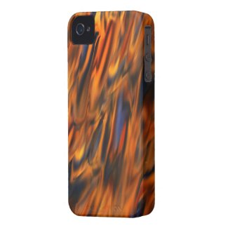 Abstract Fire & Ice iPhone4 Case Mate Case
