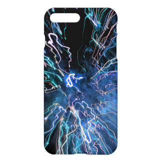 Abstract Fire in Blue Colors iPhone 8 Plus/7 Plus Case