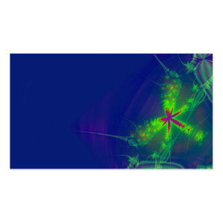 Abstract firefly business card