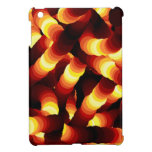 Abstract Firelight Glow Worm Case For The iPad Mini