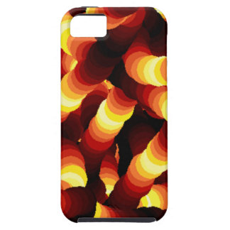 Abstract Firelight Glow Worm iPhone SE/5/5s Case