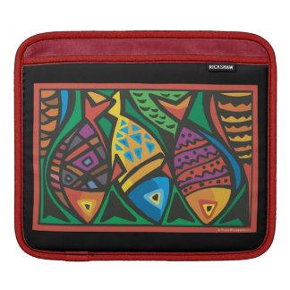 Abstract Fish Art Design iPad Sleeve