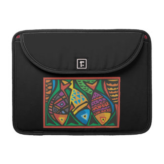 Abstract Fish Art Design MacBook Pro Sleeve
