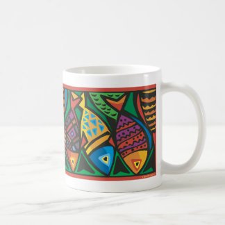 Abstract Fish Art Design Mug