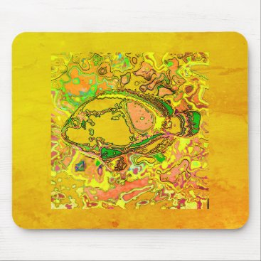 Professional Business Abstract_Fish_Art_II_Multi-Colors-Unisex Mouse Pad