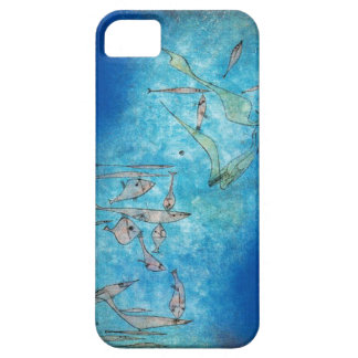 Abstract Fish by Paul Klee iPhone SE/5/5s Case