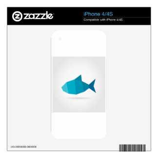 Abstract fish skin for the iPhone 4S