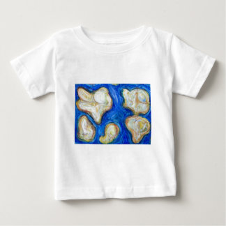 Abstract Five Continents (abstract world map ) Baby T-Shirt