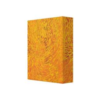 Abstract Flames Canvas Print
