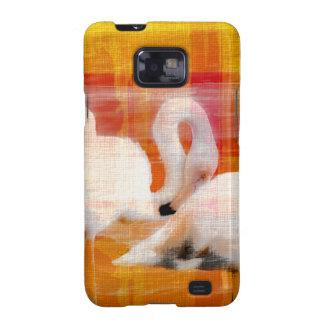 Abstract Flamingo Art Samsung Galaxy SII Cover