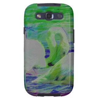 Abstract Flamingo Art Galaxy S3 Cover