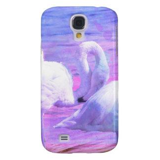 Abstract Flamingo Art HTC Vivid Covers