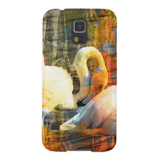 Abstract Flamingo Art Samsung Galaxy Nexus Case