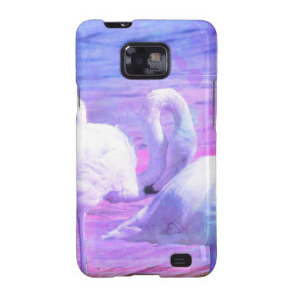 Abstract Flamingo Art Galaxy S2 Covers