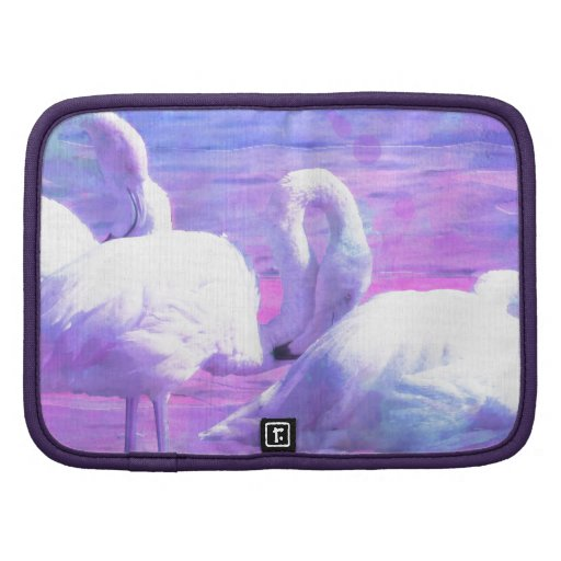 Abstract Flamingo Art Planners