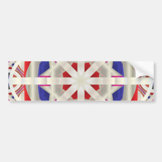 Abstract Flare Bumper Sticker