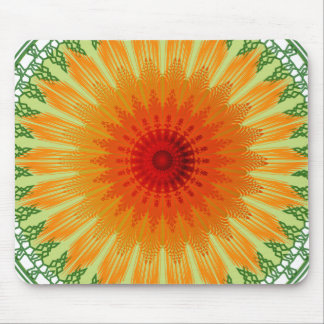 Abstract Flare Mouse Pad