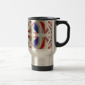 Abstract Flare Travel Mug