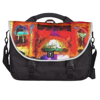 Abstract Flinders street station Bag For Laptop