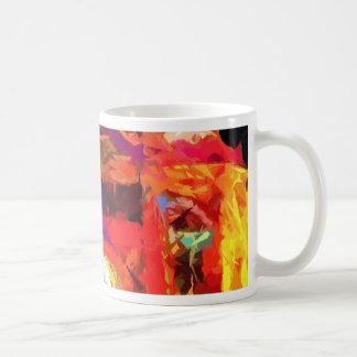 Abstract Flinders street station Mug